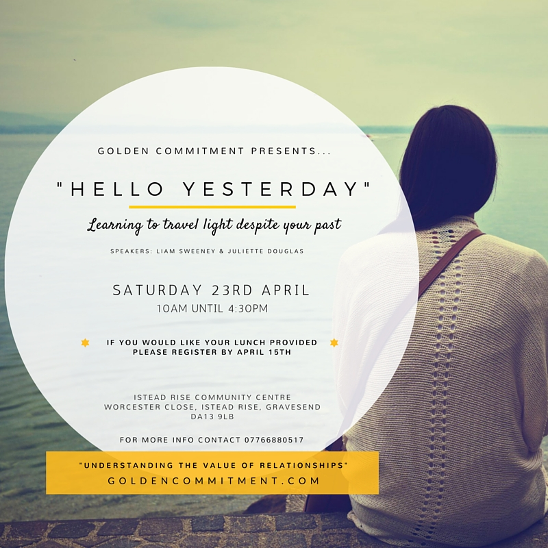 Hello Yesterday - GC Kent Event Poster